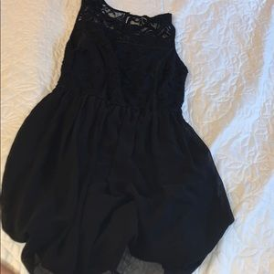 lily rose cute and classy lace black dress size xs